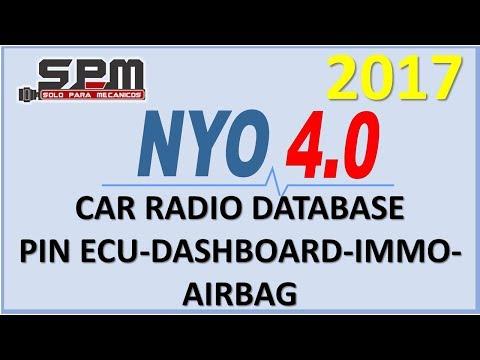NYO 2017 car radio database