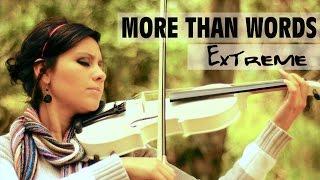 MORE THAN WORDS (Extreme) 💿 en VIOLIN ELECTRICO!!