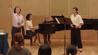 レッスン公開 声楽:吉田伸昭 准教授|上野学園大学 2017年8月27日オープンキャンパス