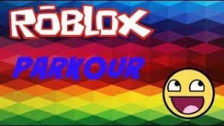 Facem Parkour Pe Roblox !