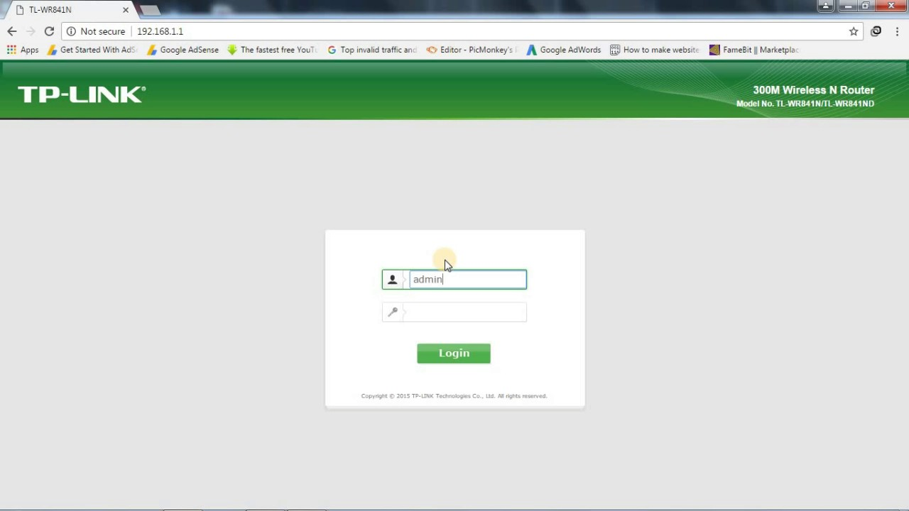 how to get your modem login