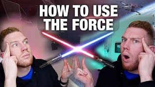 THE LAST JEDI! HOW TO USE THE FORCE FROM STAR WARS!