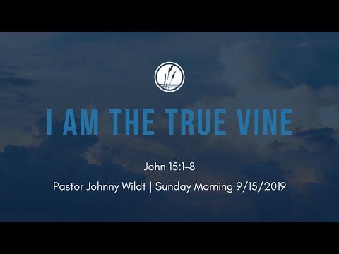 I AM the True Vine (John 15:1-8) - Pastor Johnny Wildt