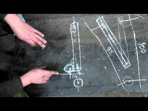 Проэкт от Левши по модернизации заднего маятника мотоцикла