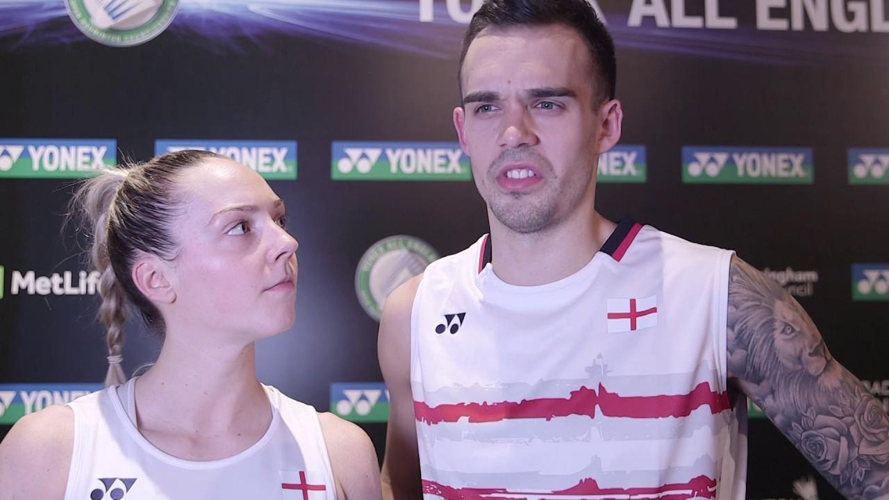 Yonex All England Championships Chris & Gabby Adcock defeat