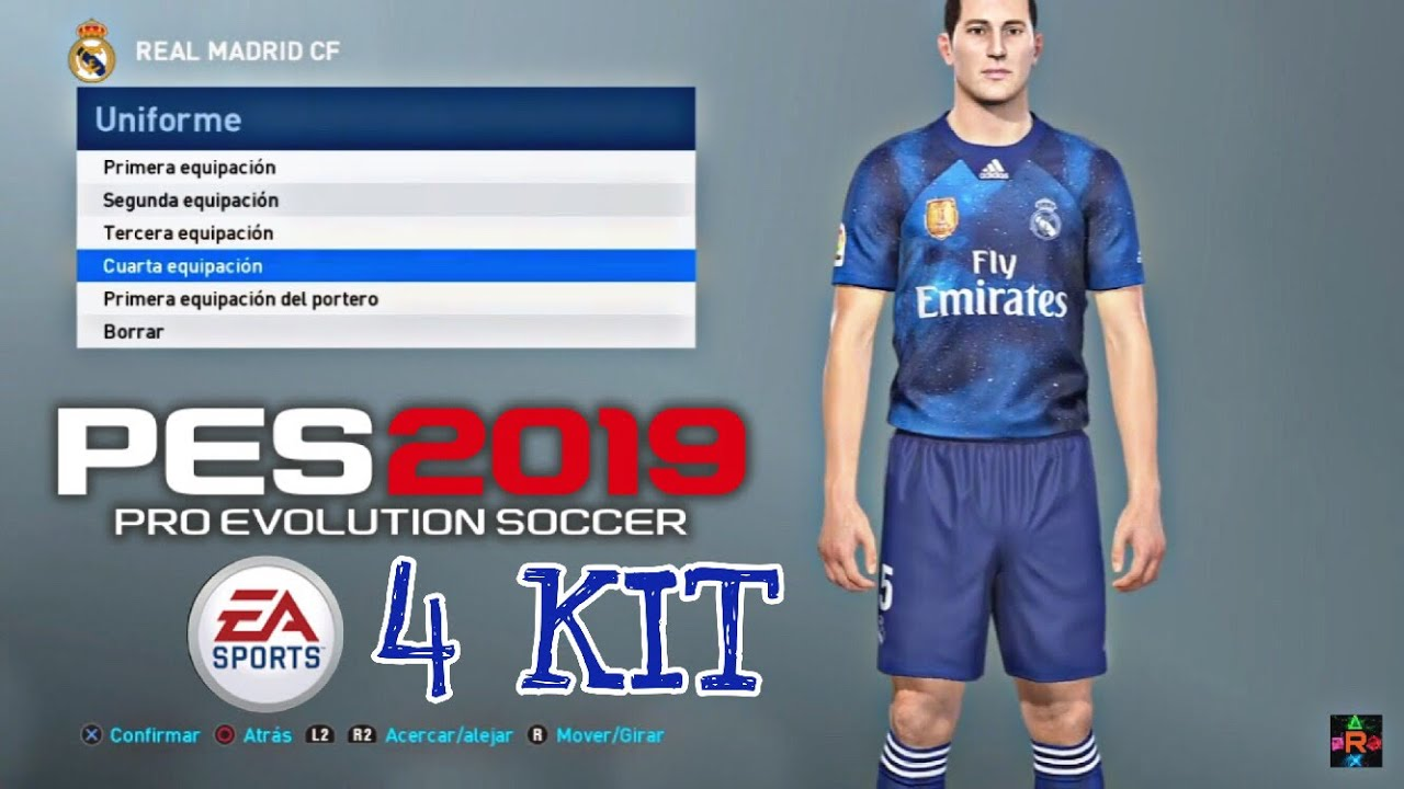 best sneakers 8157a 39516 PES 2019 - EA Sports Kit REAL MADRID ||iamRubenMG