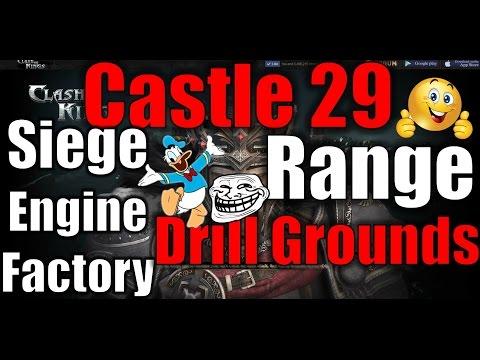 CLASH OF KINGS Log: Castle 29 & Big Upgrades | 1080p