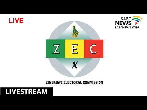 Zimbabwe Presidential Results Announcement