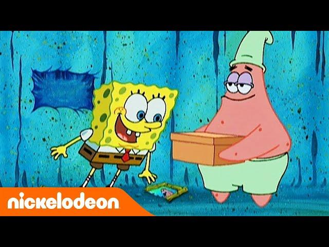 SpongeBob Squarepants | De geheime doos | Nickelodeon Nederlands