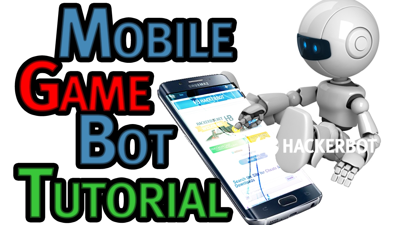 How to create Your own Bot (Macro) for Mobile Games (Android / iOS) Tutorial