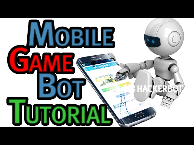 How to create Your own Bot (Macro) for Mobile Games (Android