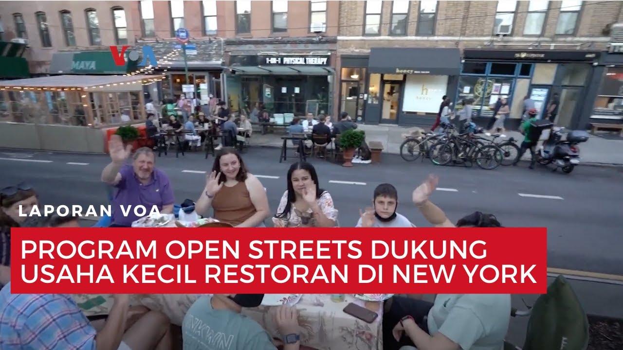 Berita: Program Open Streets Dukung Usaha Kecil Restoran ...