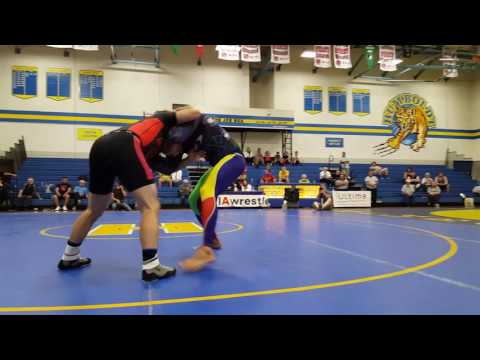 Frank Gotch Worlds: Curran Jacobs vs Travis Newaza Warner Catch Weight Match
