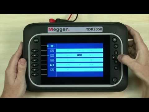 Megger TDR2050 Time Domain Reflectometer   Instrumart