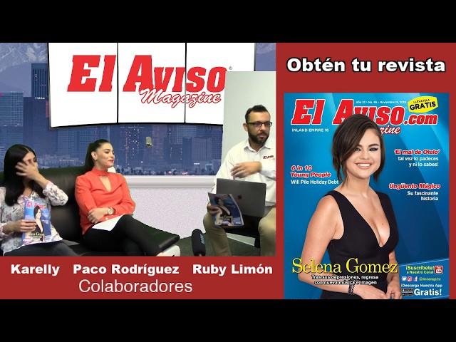 #SELENAGOMEZ EN LA PORTADA DE EL AVISO MAGAZINE - El Aviso Magazine