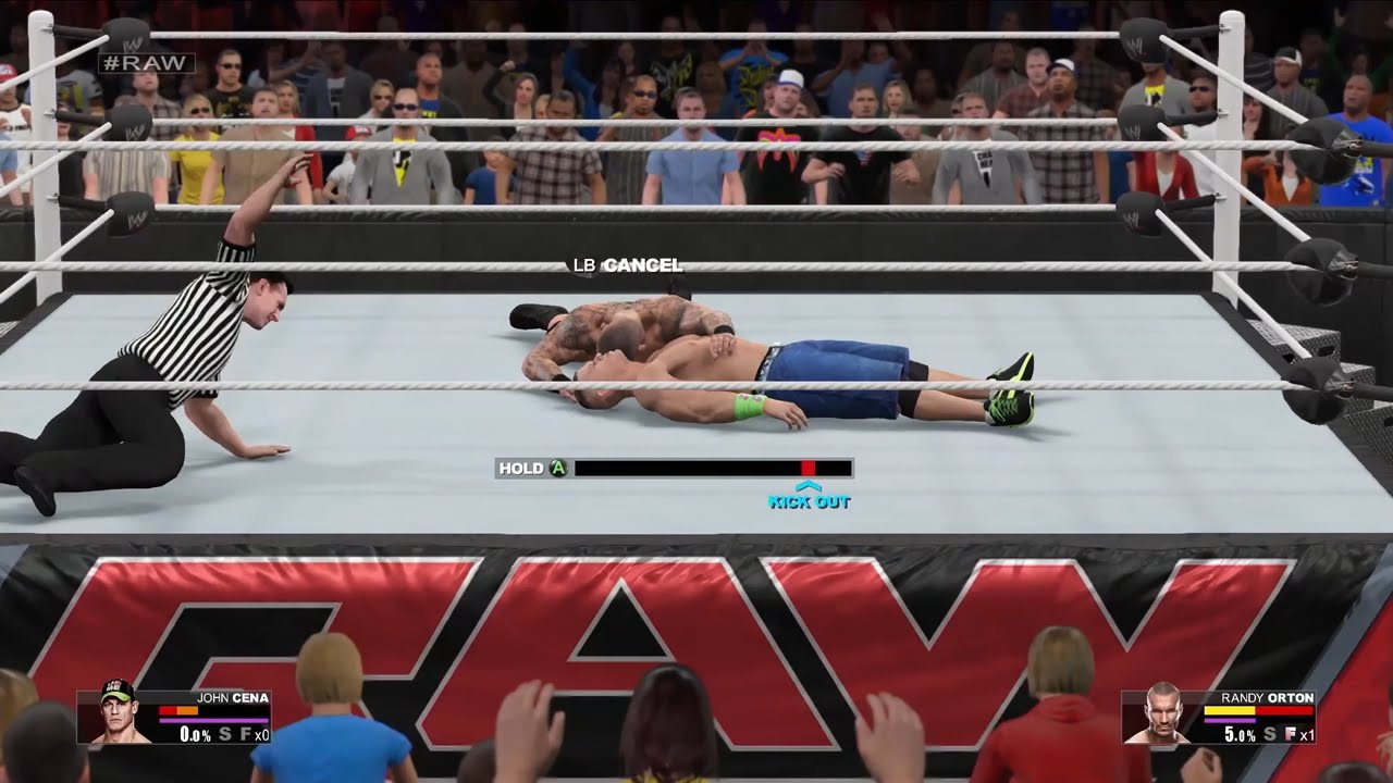 WWE 2K15: Gameplay / Controls Trailer - 121.4KB
