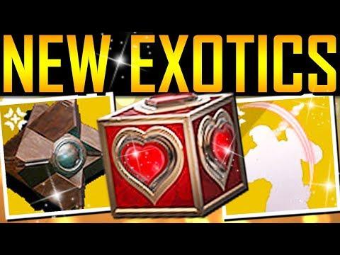 Destiny 2 - MASSIVE NEWS UPDATE! New Exotics! 700 Power! thumbnail