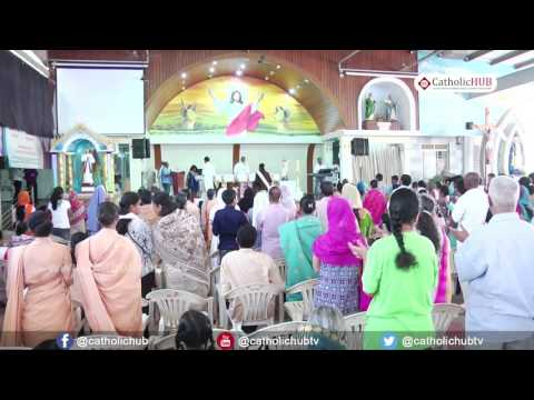 Word of God (Rev.Fr.Cheriavely John VC) @ Logos Retreat Centre, Babusahibpalaya, Bangalore, 21-04-17