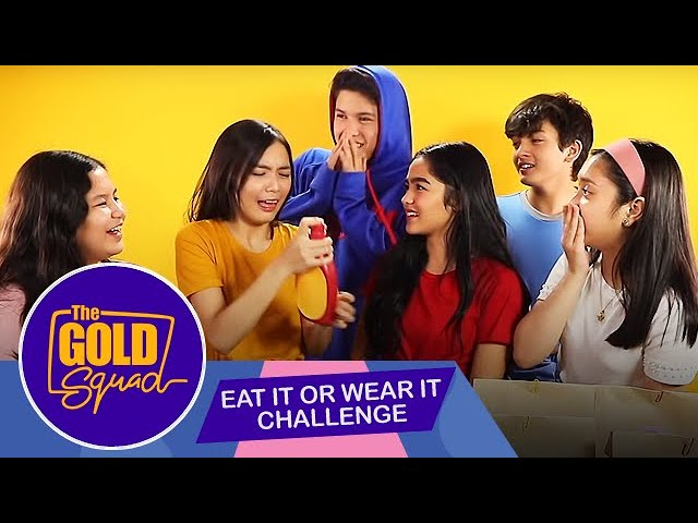 EAT IT OR WEAR IT THE GOLD SQUAD STYLE | The Gold Squad