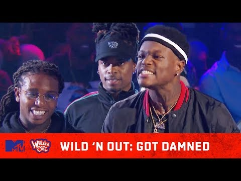 DC Young Fly Flames Hitman Holla 🔥 | Wild 'N Out | #GotDamned