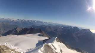 Climbing Alps - Nadelhorn, Normalweg (4327m) 11.08.2012 GoPro