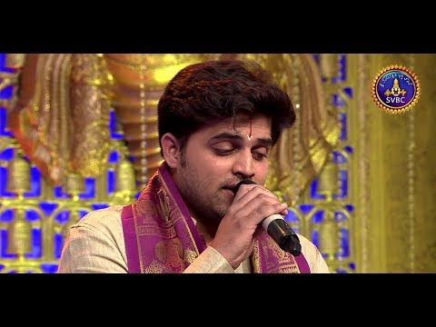 Nakul Abhyankar Awesome performance in Annamayya Paataku Pattaabhishekam 2 @ SVBC