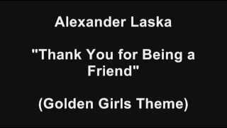 Alexander Laska - Golden Girls Theme (Piano Instrumental)