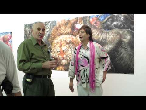 Alexander Kanevsky's New York City Montserrat Contemporary Art Gallery Sep 2013 exhibition. Part 3
