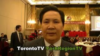 加拿大,中国国际商会, 陈庆文会长,20131220