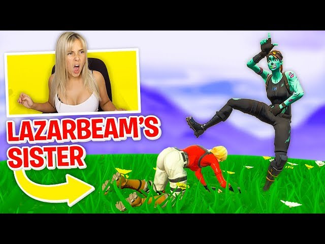 I Stream Sniped Her... THEN CARRIED HER!  -  Fortnite Battle Royale