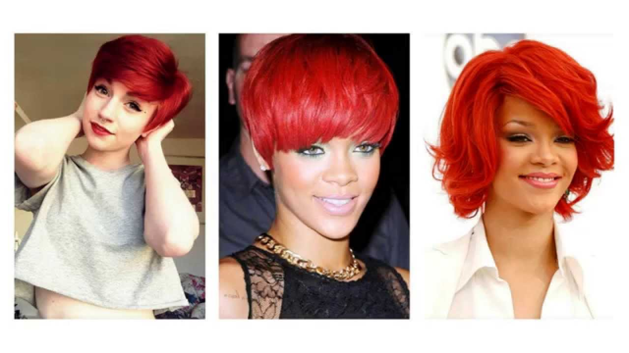 Rood Haar Kapsels