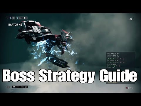 The Raptor Boss Strategy Guide (Warframe)