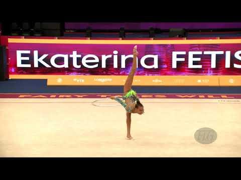 FETISOVA Ekaterina (UZB) - 2019 Rhythmic Worlds, Baku (AZE) - Qualifications Hoop