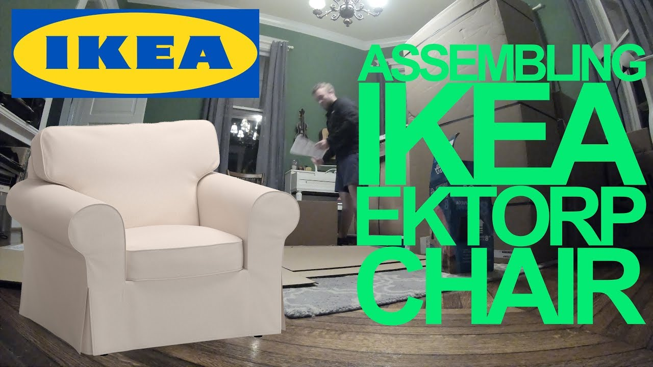 Ikea EKTORP Chair Assembly