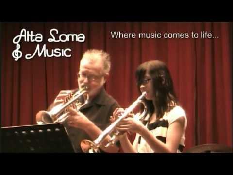 Trumpet Lessons Fontana  CA - Alta Loma Music Lessons Showcase 2011
