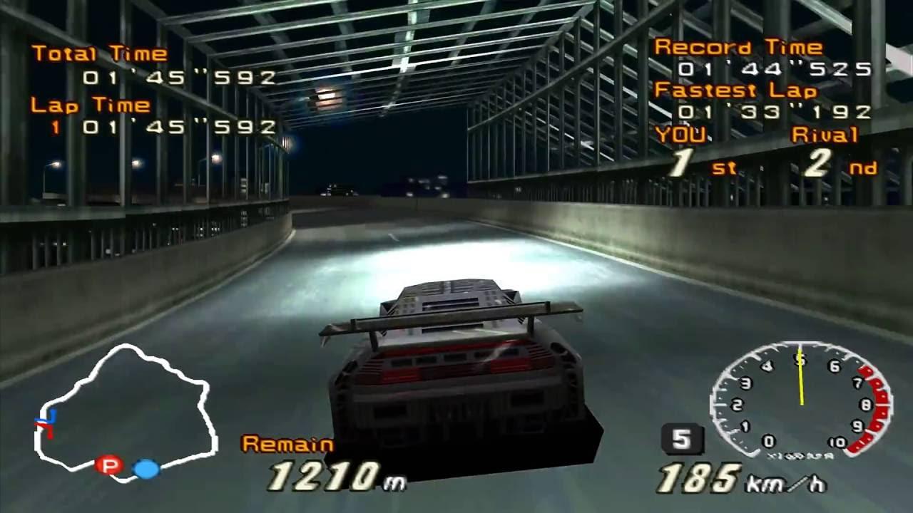 Racing Lagoon PS1/ PSX Widescreen @ 60fps PCSXR-PGXP (SquareSoft, 1999)