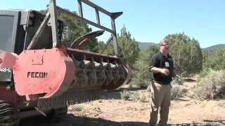 Mulching Machine - Forestry Mulcher - Fecon - FTX148