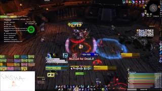 Aweshock vs Blackhand (Heroic) - Terribad Arcane Mage PoV.