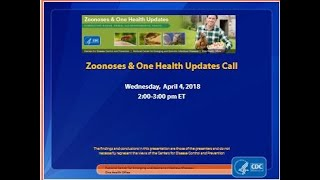 CDC ZOHU Call April 2018