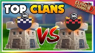 Watch Top Level Clans in an Epic Showdown | Clash of Clans