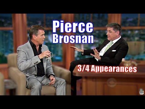Pierce Brosnan  Aka Bond, James Bond  34 Visits In Chronological Order