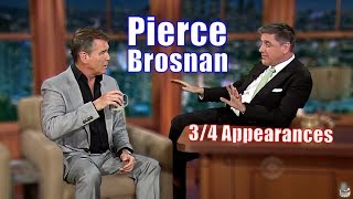 Pierce Brosnan - Aka Bond, James Bond - 3/4 Visits In Chronological Order