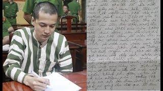 Rơi nước mắt với bức tâm thư cuối của Nguyễn Hải Dương