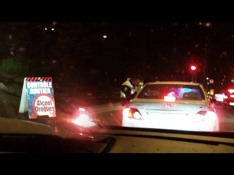 When Americans Go Through a DUI Checkpoint in Canada...