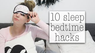 10 ways to fall asleep faster