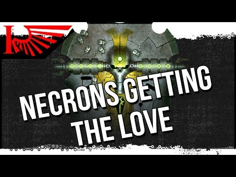 Necron Codex Dynastic Codes AND LEAKED GOODIES!