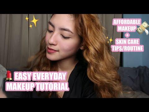EASY EVERYDAY MAKEUP TUTORIAL + TIPS