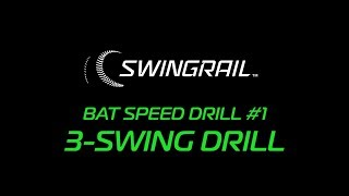 SWINGRAIL DRILL #1 - THE 3-SWING DRILL