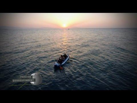 Migrants risk lives crossing Aegean Sea to Kos, Greece