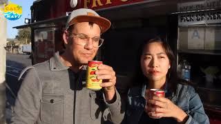 美國人試喝黑松沙士 蘋果西打-加州樂誌Cali Navi 吃喝玩樂